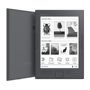 "Energy Slim HD - eReader (6"", Eink Carta HD, Ultraligero, 8GB, botón lateral paso de pagina)"