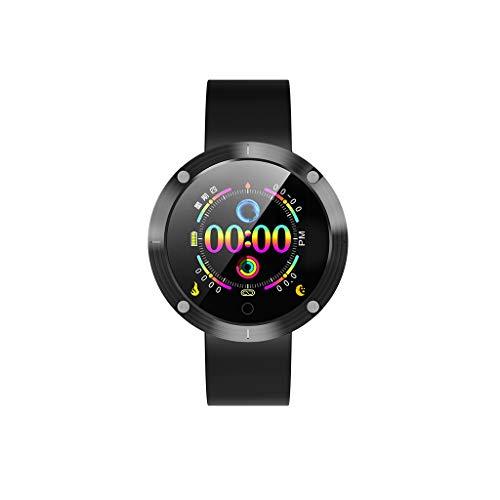 VRTUR Sport Armband Vantage Profi-Multisportuhr Wasserdichtes Niveau IP67 Fitness Smartwatch - Mit Schrittzähler, Blutdruck, Schlafüberwachung Touchscreen Schwarz