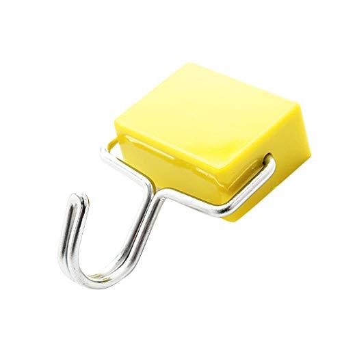Maleya Magnethaken Starker Neodym Hacken Magnet Magnetischer Haken Haftkraft Starker magnetischer Haken-Hochleistungsneodym-Aufhänger-Satz für Kühlschrank