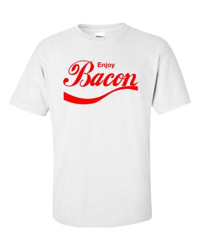 Enjoy Bacon T-Shirt Weiß