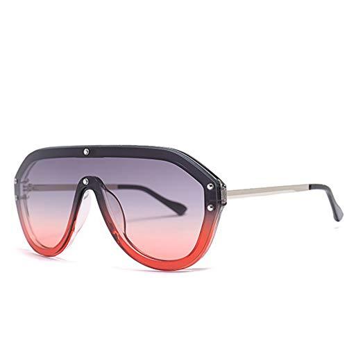 LAMAMAG Sonnenbrille Pilot Sonnenbrillen Damen Herren Big Frame Shade Sonnenbrillen Eyewear Lunette, Vb