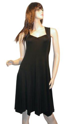 Zahreda Tanzkleidchen schwarz, Größe 44
