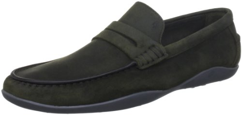 Harry's of London  Basel2 Wax Kudu,  Herren Slipper Loden Green