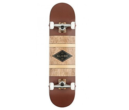 Globe Glb-Diablo Skateboard, Unisex – Adulto, Multicolore/Oxblood/Anti-Brass, Taglia Unica