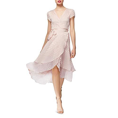 Betsey Johnson Damen Chiffon Dot Dress Freizeitkleidung, Blush, 42 Betsey Johnson Wrap