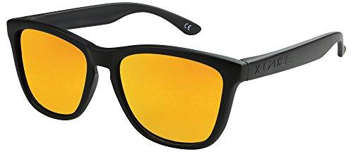 X-CRUZE 9-011 X0 Nerd Sonnenbrillen polarisiert Style Stil Retro Vintage Retro Unisex Herren Damen...