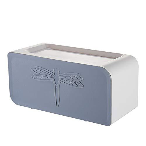 Taifaheng Toilettenpapierhalter KlopapierrollenhalterBadezimmer Tissue Box Free Punch wasserdicht Toilettenpapierrolle Papierhalter Rack grau