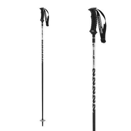 K2 Skis  Skistöcke POWER COMPOSITE silver 120 10B3002.1.1.120 Slalomstöcke Alpin Carbon Skistecken -