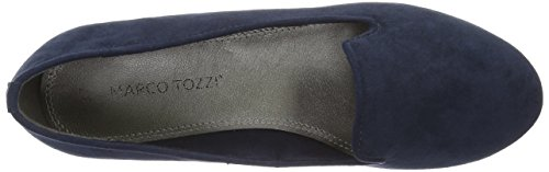 Marco Tozzi Damen 24234 Slipper Blau (Navy 805)
