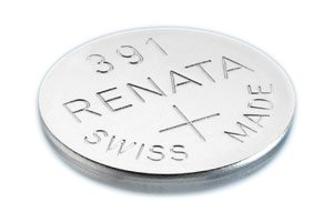 Uhrenbatterie Renata Swiss Made Renata 391 oder SR1120SW oder AG8 1.5V schnelle Schiff (1 x 391 oder SR 1120 SW) (Schiffe, Uhren)