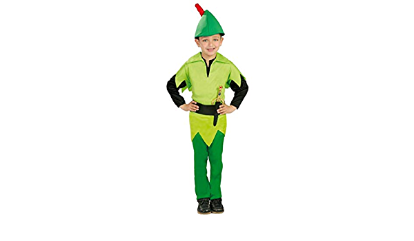 Garçons peter pan robin des bois livre jour costume halloween robe fantaisie tenue 4-12 ans
