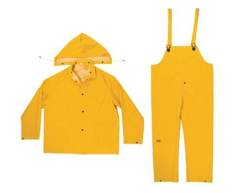 CLC Regen-Jacke R1013-piece .35mm Regen-Anzug, Gelb, XXL, multi Gummi-tarp