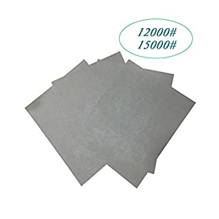 12000#/15000# High Precision Sandpaper, Wet and Dry/Waterproof/oilproof/Jewelry and Jade Finishing/Automotive Polishing/Wood Furniture Finishing/Crafts Finishing