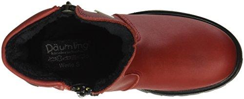 Däumling Beverley, Bottes mi-hauteur avec doublure chaude fille Rouge - Rot (10Pala cardinale)