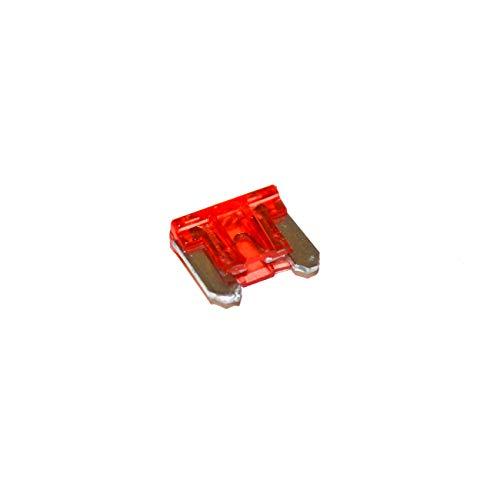 Unbekannt Flachstecksicherung 10A KFZ Auto Mini Sicherungen 11mm 30 Stück