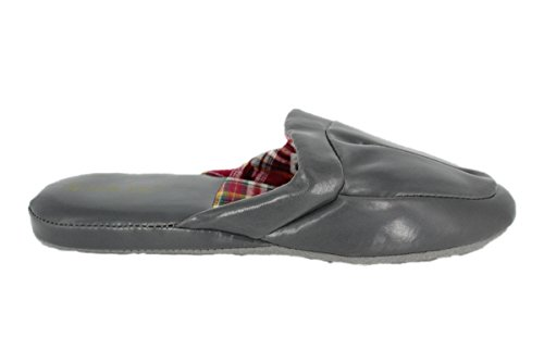 buyAzzo , Mules homme Gris