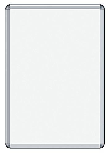Legamaster 7-632635 Posterrahmen Premium (DIN A2) 35 mm Rahmenbreite (eloxiertes Aluminium), UV-resistente Folie, 470 x 644 mm