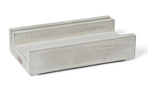 Bürodeko Stiftablage mit Kartenhalter, aus der Reihe BÜROKOLLEKTIV, BETON, Made in GER (Handwerklich Hochwertige Wohnzimmer-möbel)