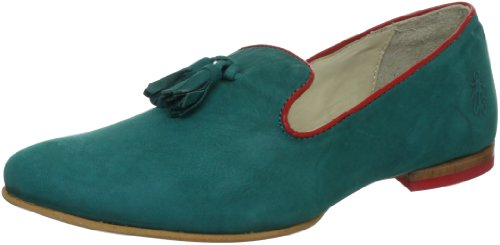Fly London Fabe, Mocassins femme Bleu (Peacock)