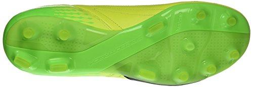 Puma Herren evoSPEED 17.2 Lth FG Fußballschuhe, 42 EU Gelb (safety yellow-puma black-green gecko 01)
