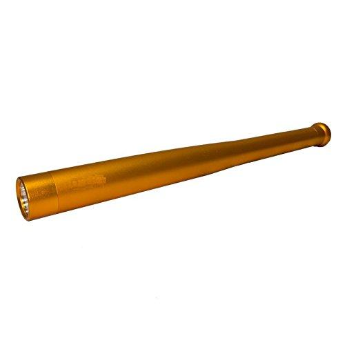 BKL1® Stabtaschenlampe 1000 Gold Baseballschläger Flashlight Blendlampe Selbstverteidigung