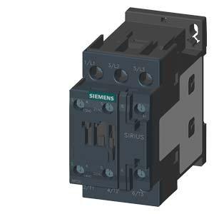 SIEMENS - CONTACTOR AC3 5 5KW 1NA+1NC CORRIENTE ALTERNA 400V S0 TORNILLO