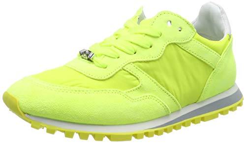 Liu Jo Shoes Alexa - Running Yellow Fluo Scarpe da Ginnastica Basse Donna, Giallo S14f1, 40 EU