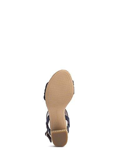 Tommy hilfiger FW0FW00597 Sandalo tacco Donna Blu