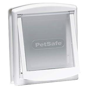 Petite Porte pour Chat - Chatière solide PetSafe - Blanc
