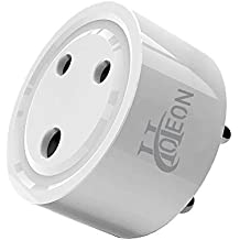 Hoteon 10A Mini Smart Plug Outlet Socket Compatible with Alexa Google Assistant No Hub Required Control Your Devices from Anywhere