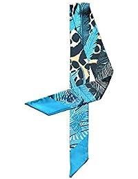 Felix   SiLK Mujer Niña Leopardo Mariposa Bufanda Fulares Bufanda de Cuello  Diademas Pañuelo para la 85f6c4ff84a