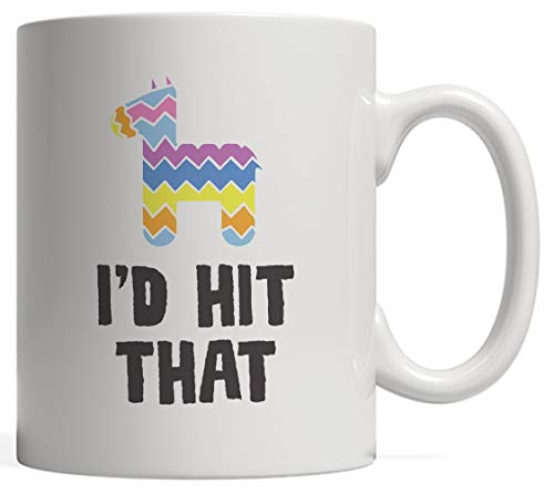 Mug - Funny Cinco de Mayo Mexican Themed Party Gift For Mexico Pinatas Sweets And Candies Lovers On May 5th Celebration Parties With Donkey Animal Decorations! ()