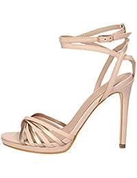Amazon.es  Guess - Sandalias de vestir   Zapatos para mujer  Zapatos ... 8232079d09b7