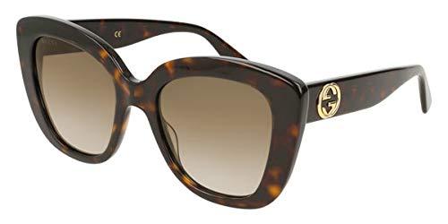 80d4280e205 Gucci Sonnenbrillen (GG-0327-S 002) dunkel havana - grau-braun