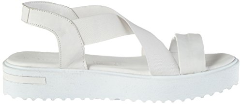 Tamaris 28219, Sandales Bout Ouvert Femme Blanc (White 100)