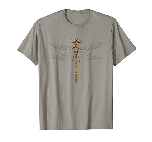 Yellow and Purple Dragonfly T-Shirt -