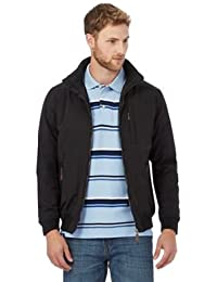 b19415eb8ac02 Maine New England Men s Shower Resistant Blouson Mac Parka Jacket in Black
