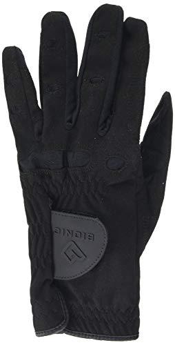 Bionic Herren Golfhandschuh linke Hand (Linkshänder) AquaGrip,Schwarz,L