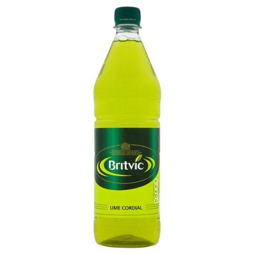Britvic Lime Cordial 1 x 1 litre