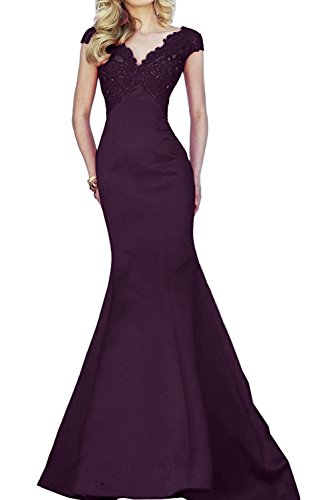 Dimensioni TOSKANA sposa donna ONE-Shoulder Mermaid benda tulle stanotte vestimento lunga un'ampia Party ball vestimento uva