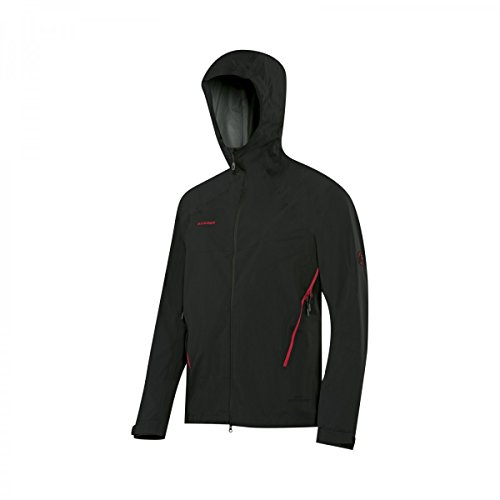 Mammut Ultimate Alpine SO Hooded Jacket Men (Softshell Jackets/Vests), color:black;size:XL