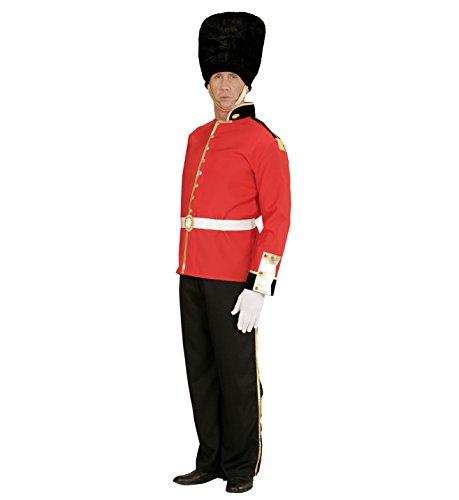 Widmann 00143 - costume per adulti guardia reale, multicolore, l