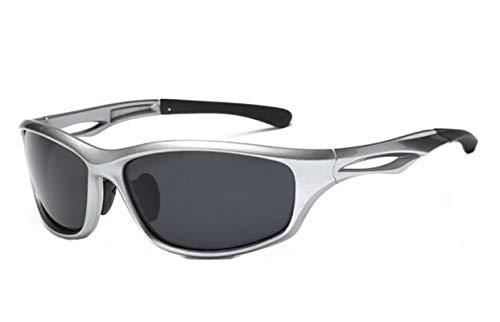 MaxAst Sportbrille Herren Skibrille Unisex Unisex Schutzbrille Winddicht Silber Grau