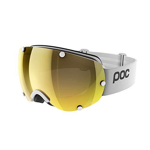 POC Lobes Clarity Ski Brille, Hydrogen White/Spektris Gold, One Size
