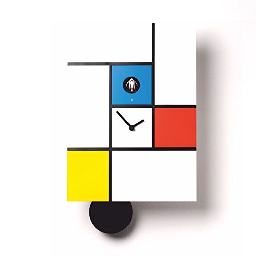 Diamantini & Domeniconi Orologio A Cucù Mondrian