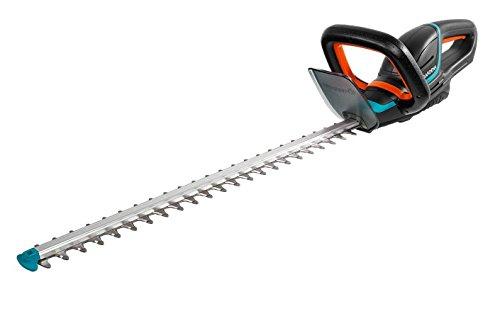 Tijeras cortasetos con batería ComfortCut Li-18/60 de GARDENA: cortasetos con mango ergonómico y protector contra impactos, cuchilla precisa de 60cm de longitud, se entrega sin batería (9838-55)