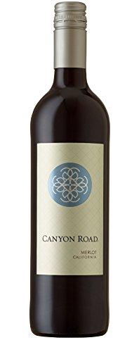 gallo merlot 6x 0,75l - 2015er - Canyon Road - Merlot - Kalifornien - Rotwein halbtrocken