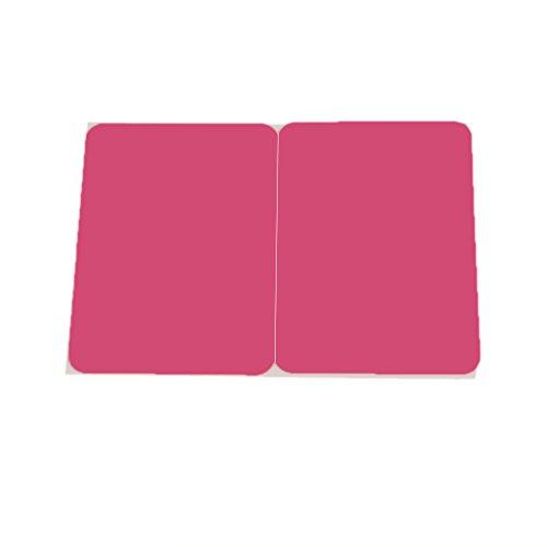 magideal Tastatur am Handgelenk Anti Rutsch Pad Unterstützung für Macbook Laptop Durable Rose Rot