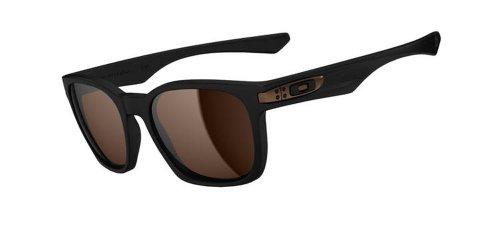 Oakley Garage Rock Rechteckig Sonnenbrille, MATTE BLACK/DARK BRONZE/Dark Bronze (S3) (Rock Brille)