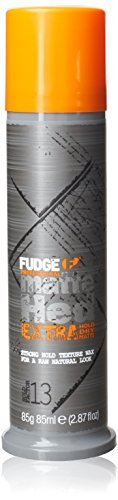 Fudge Matte Hed Extra Matte Molding Wax for Hair 85g by Fudge -